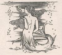 Robert Anning Bell挿絵のテンペストからの人魚 - Books