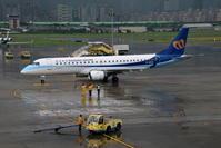 家族で台湾旅行 その4 台湾松山空港(2) - 南の島の飛行機日記