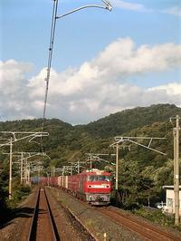 藤田八束の鉄道写真@激写貨物列車の写真,とっても素晴らしい元気をくれる貨物列車 - 藤田八束の日記