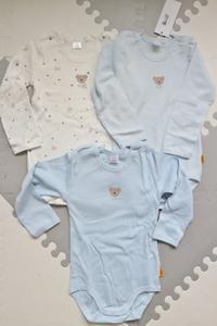 男児用シュタイフの長袖ボディ3着セット&BodenのTシャツ☆ - ドイツより、素敵なものに囲まれて②
