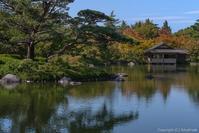 公園の庭園 - ひつじ雲日記