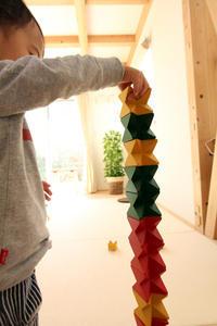 組み上げる家ご入居後のメンテナンス - 成長する家 子育て物語