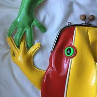 黄緑色のニューフェイス - 布と木と革FHMO-DESIGNS(エフエッチエムオーデザインズ)Favorite Hand Made Original Designs