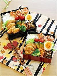 いつもの鮭弁当とパン焼き・山食パン♪ - ☆Happy time☆