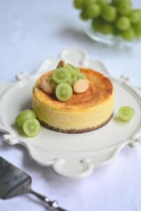 ベイクドチーズケーキ & 栗の渋皮煮のマロンシャンティ & ほうじ茶プリン レッスンのお知らせ - Misako's Sweets Blog