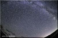 満天の星(初山別村) - 北海道photo一撮り旅