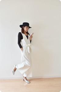 オーダーのお品、白いコーディロイが完成しました。 - 親子お揃いコーデ服omusubi-five(オムスビファイブ)
