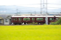 阪急と彼岸花 - 鉄男の部屋