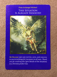 月曜のメッセージ:ミカエルのオラクルカード:迷う者たちへ・大天使ミカエル - じぶんを知ろう♪アトリエkeiのスピリチュアルなシェアノート