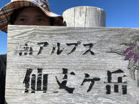 仙丈ヶ岳181008地蔵尾根日帰りピストン - 週末は山にいます