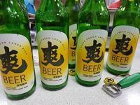 (台中:海鮮料理)異業種の集まりで並んだビール瓶と食べられないものの数々♪ - メイフェの幸せ&美味しいいっぱい~in 台湾