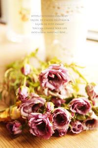 薔薇の花束と薔薇のジャム。 - 暮らしをつむぐ。* 暮らしごと・日々のこと*