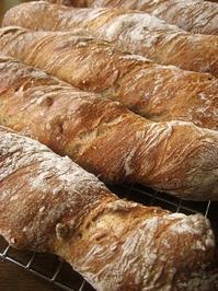 くるみのパンを2種類 - slow life,bread life