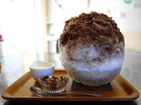 チョコレートミルクのかき氷【鵠沼海岸Kohori-noan 埜庵(のあん)】 - ぶらり湘南