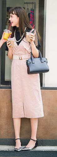 ガーリー好きさん向けのジャンスカです♪【#ジャンパースカート】#ジャンスカ#松井愛莉 - *Ray(レイ) 系ほなみのブログ*