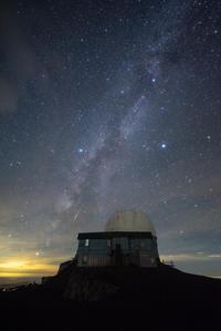 天の川流れる星 - **photo cafe**