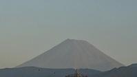 10月9日、今朝の富士山です - 楽しく元気に暮らします(心満たされる生活)