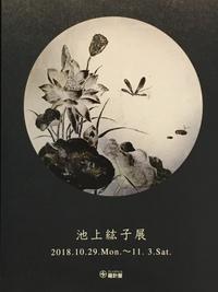 個展のご案内。 - 『一日一畫』 日本画家池上紘子