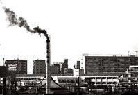 <煙が目にしみる>2005年頃足立区 - 藤居正明の東京漫歩景