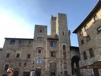 サン・ジミニャーノ、10月上旬の紅葉 - フィレンツェのガイド なぎさの便り
