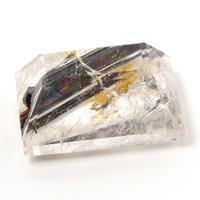 水晶に極太の内包物、、、これは何だと思いますか?(byすぐる) - すぐる石放題