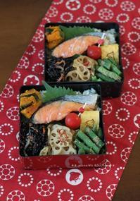 火曜日の鮭弁 ✿ 天ぷら(๑¯﹃¯๑)♪ - **  mana's Kitchen **