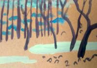 【ハイキング】新松田周辺 - たなかきょおこ-旅する絵描きの絵日記/Kyoko Tanaka Illustrated Diary