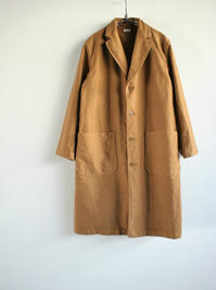blurhmsExtra Cotton Heavy Moleskin Engineer Coat / Coyote - 『Bumpkins putting on airs』