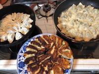 10月9日、焼き餃子と、もろきゅう - 今夜のおかず