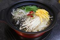 ソウルの鶏出汁スープ麺、タッカルグクスを真似て。 - キムチ屋修行の道