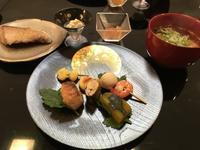 昨日の夕食とお出かけ着 - My style