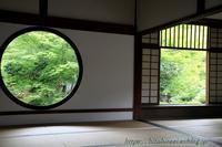 京都源光庵芒と萩 - 暮らしを紡ぐ