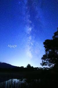 冬師湿原の夜 - Aruku
