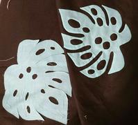 モンステラ - ほっと一息・・~Sakura's Hawaiian QuiltⅡ