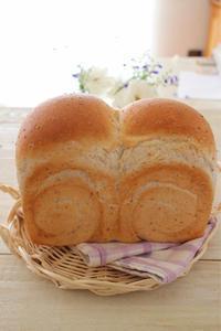 グラハム食パン - おうちカフェ*hoppe