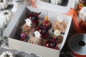 10月ハロウィーンアフタヌーンティーレッスンはじまりました - お菓子教室*Blue Kitchen*便り ~ a pleasant blue kitchen ~