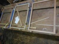 急ぎのフレーム - 手作り家具工房の記録