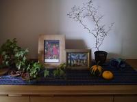 玄関のかざり~10月~ - small space ・・・小さな白い家・・・