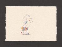 《画室『游』《葉書サイズイラスト9『子ども』》 - 画室『游』 croquis・drawing・dessin・sketch