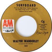 Walter Wanderley – Surfboard / When It Was Done - まわるよレコード ACE WAX COLLECTORS