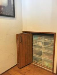 階段下を小物ステーションにしたその後 - 岐阜・整理収納アドバイザーのブログ・おちつくおうち