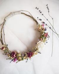 リース作りとひとり旅の関連性 - 「花」と「自分」を楽しむ花教室*  fleur Nature-フルール ナチュール-