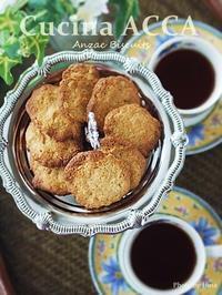 平和を祈る日に食べる、ANZAC Biscuits - Cucina ACCA