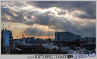 「空と雲と太陽と」東京天使の階段・・ - デジカメ散歩写真