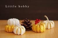 粘土でミニチュアのカボチャ - Little hobby