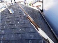 台風被害の復旧工事 - 建築屋徒然日記
