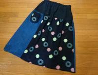 昭和レトロなギャザースカート - 古布や麻の葉