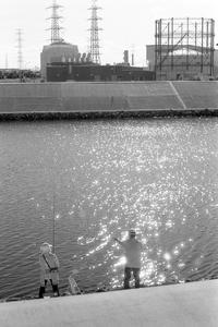 秋色の光に煌めく釣り人 - Film&Gasoline