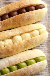 パン教室で「クリームパン」クリームは後入れよ~ - Takacoco Kitchen