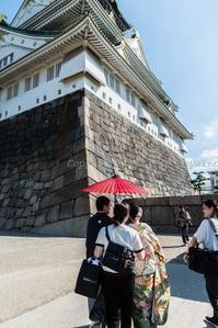大阪城にて - シセンのカナタ